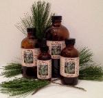 White Pine Needle Tincture in 2 oz., 4 oz., 8 oz., and 16 oz.